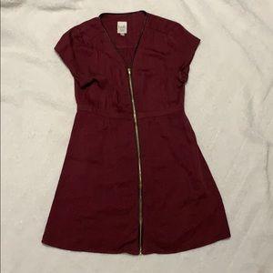 Twik zipper dress